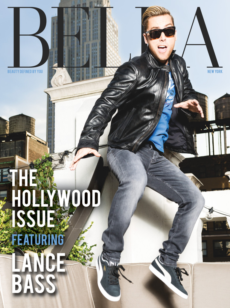 Lance Bass BELLA NY January 2016