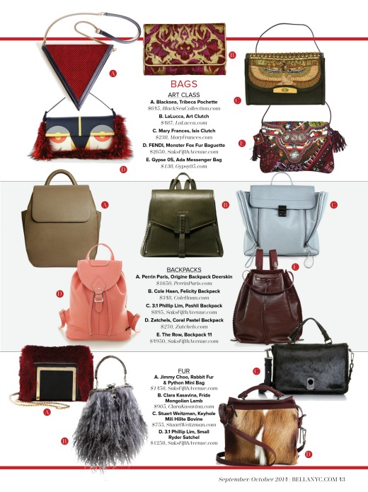 fall 2014 handbag trends