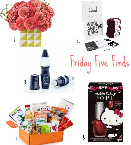 Friday Five Finds Winter Warm Up