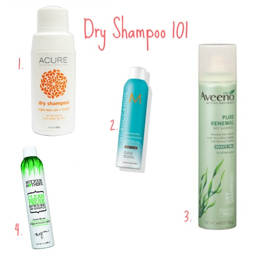 Beauty Tips Dry Shampoo 101