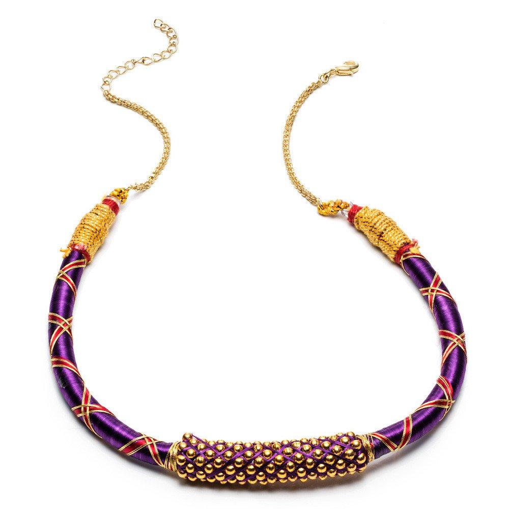 Rosena Sammi Necklace Ribbon Nilgiri Whos Sari Now