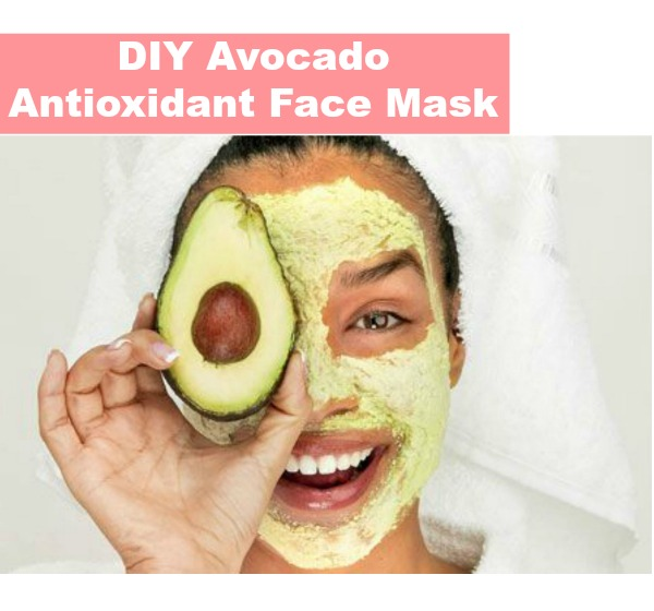 DIY Antioxidant Avocado Face Mask