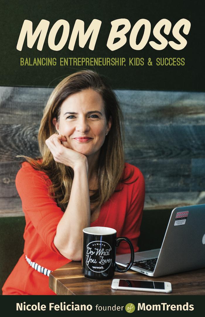 Mom Boss Nicole Feliciano book cover