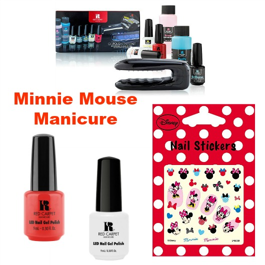 Minnie Mouse Manicure tools