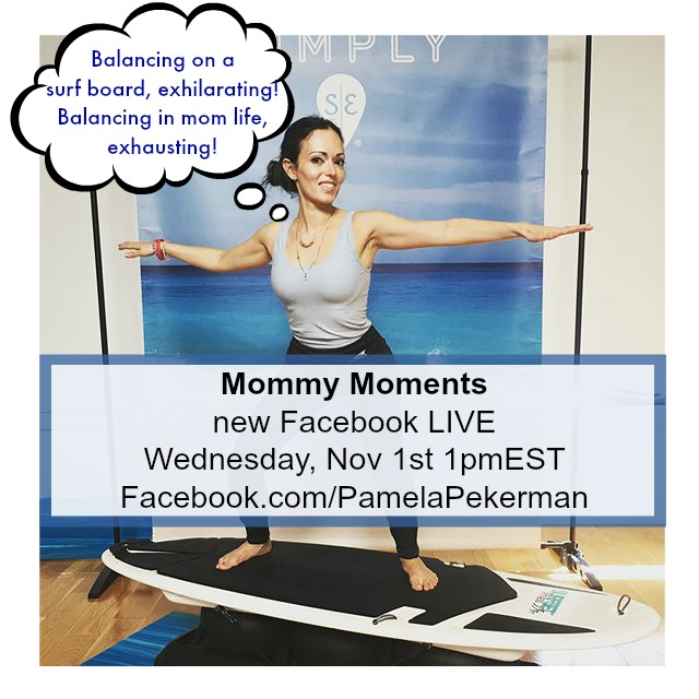 Mommy Moments Facebook Live Pamela Pekerman