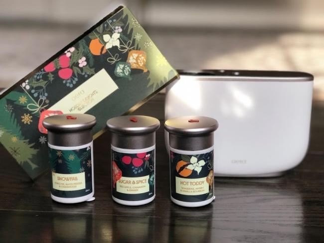 Aere for Home holiday delights hostess gift idea holiday home fragrance Pamela Pekerman