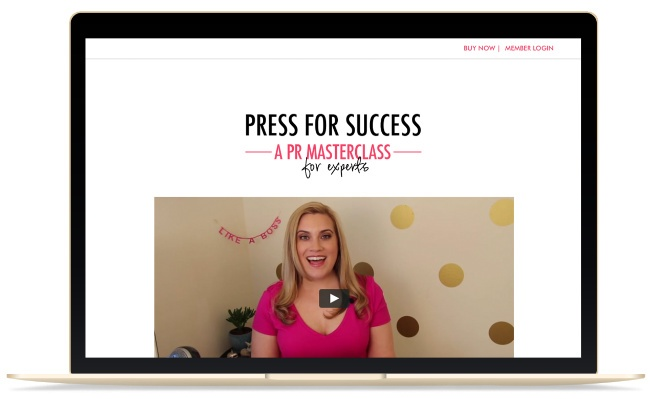 Small Business PR Tips Sabina Hitchen Press for Success Mompreneur Pamela Pekerman