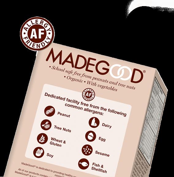 madegood foods allergy free school safe snacks pamela pekerman