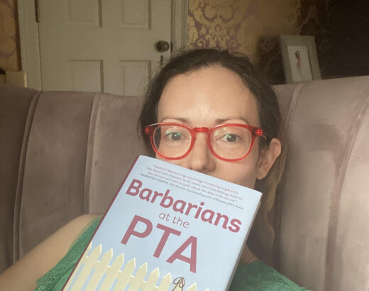 Barbarians at the PTA book review momprenuer author Dr. Stephanie Newman