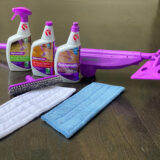 Rejuvenate click n clean spray mop cleaning products