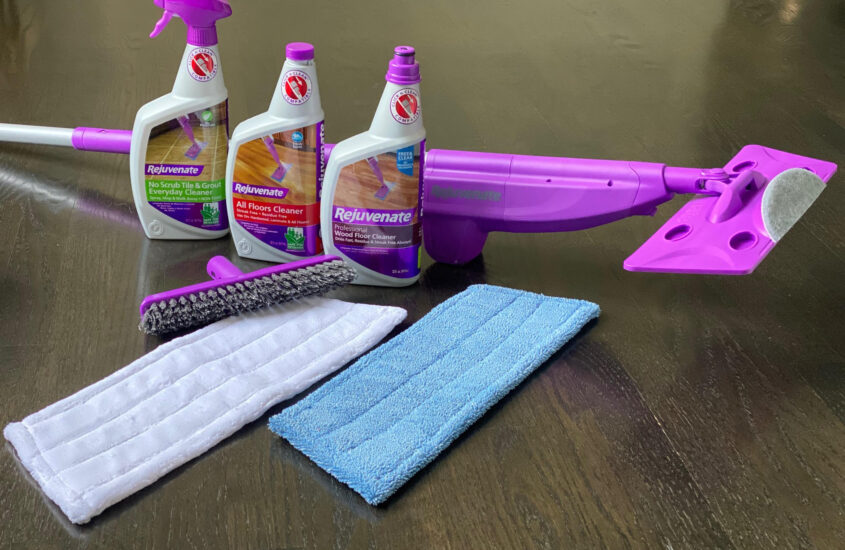 ULTIMATE spray mop,  smarter Cleaning Products with rejuvenate